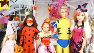 Barbie Decora La Mansion Encantada para la Fiesta de Halloween - Disfraces para muñecas