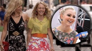Carrie Diaries Season 2 Promo - Meet Samantha! AnnaSophia Robb Talks Sebastian!