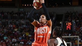 Maya Moore Scores Game-High 23 Points to Win 2017 WNBA All-Star MVP!