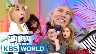 MAMAMOO and Apink gives it all to Young-ja [Hello Counselor / 2016.10.10]