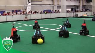RoboCup 2018 - Round Robin 3 - highlights