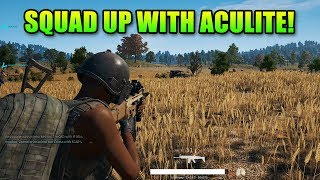 Squad Up With Aculite & The Crew! | PlayerUnknown's Battlegrounds