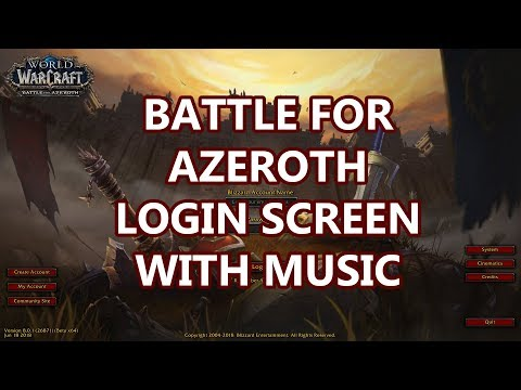 Xxx Mp4 Battle For Azeroth Login Screen With Music 3gp Sex