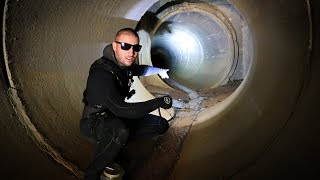 Exploring Underground Tunnel System Below City!! (Creepy)
