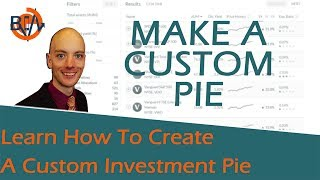 M1 Finance How To Make A Pie Tutorial - Make Your Own Custom Pies