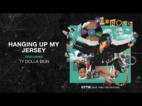 PnB Rock Hanging Up My Jersey feat. Ty Dolla ign Official Audio
