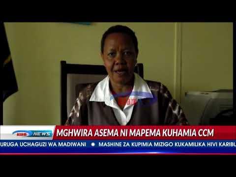 Xxx Mp4 Azam TV Anna Mghwira Asema Kuhamia CCM Ni Suala La Muda 3gp Sex