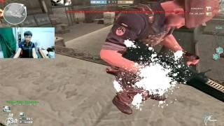 Bình Luận CF : M16 Săn Zombie - Tiến Xinh Trai - zombie v4