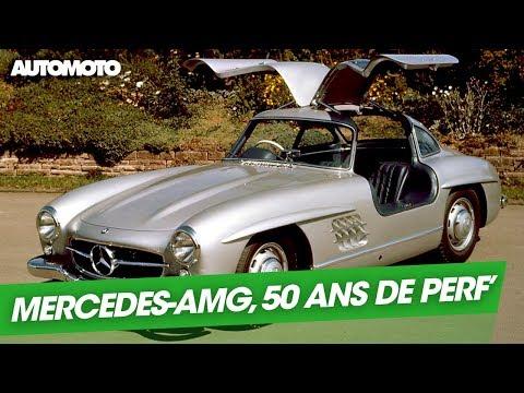 Mercedes AMG 50 ans de performances