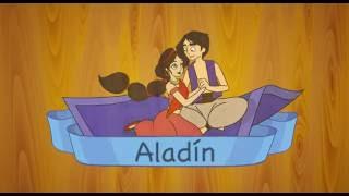 Aladin Cuento Classico leido en castellano para niños