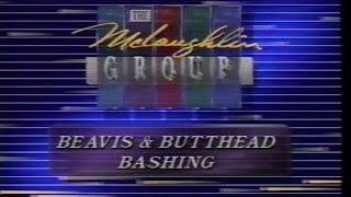 McLoughlin Group - Beavis and Butt-Head Bashing segment (1993)