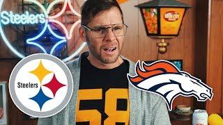 Dad Reacts to Steelers vs Broncos (Week 12)