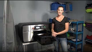 AnaJet DTG Printer Customer Testimonial - Katie Aretos and Your Graphix