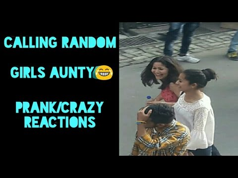 Calling Cute and Beautiful Girls 'AUNTY' | Prank/Crazy Reaction | Prank in India |