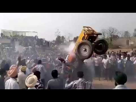 Tractor Fail in Punjab Competition