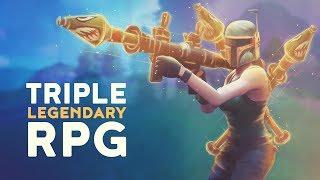 TRIPLE LEGENDARY RPG (Fortnite Battle Royale)