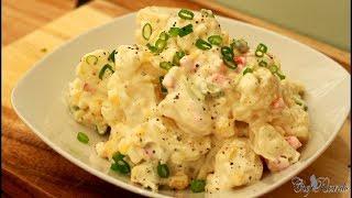 Classic potato salad recipes /Chef Ricardo Cooking !!