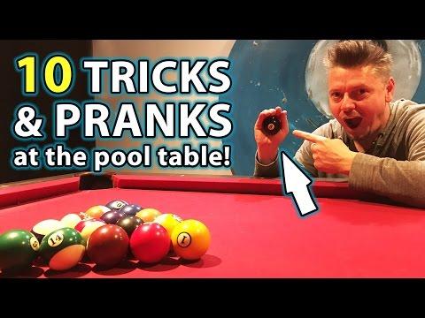 TOP 10 Pool TRICK Shots and PRANKS