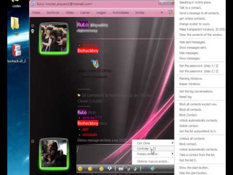Hackear messenger con MSN PLUS scripts