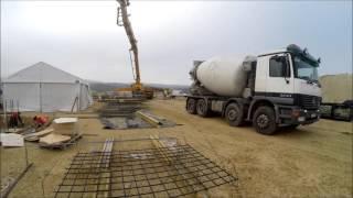 Baumar - Fundamenty pod halę w Dąbrowie Górniczej