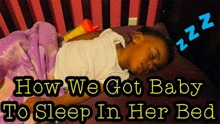 Vlog 412: How We Got Baby to Sleep in Her Bed