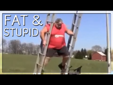 FAT & STUPID Fail Compilation 🍔 🙈