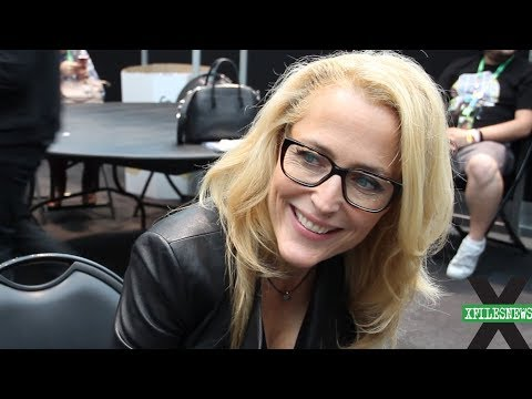 XFN Interviews: Gillian Anderson at X-Files NYCC 2017