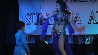 Alla Kushnir - Belly Dance Drum Solo - Diwali Festival 2011