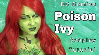 Batman: Poison Ivy Body Paint Tutorial (NoBlandMakeup)
