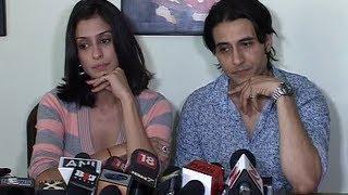 Shilpa Saklani and Apoorva Agnihotri's press conference regarding rave party.flv