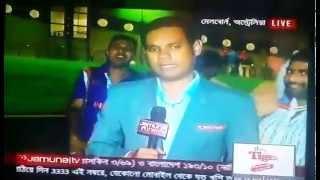 Indian Fan's Behavior after Bangladesh vs India QF 2015