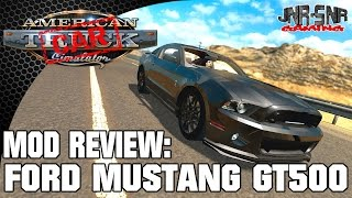 American Truck Simulator Ford Mustang Shelby GT500 | Mod Review