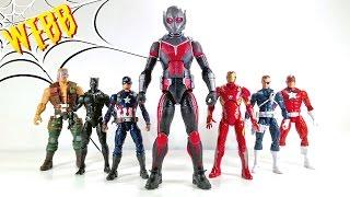 MARVEL LEGENDS Captain America Civil War GIANT MAN BAF Review