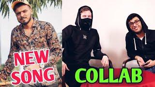 Amit Bhadana NEW SONG   CarryMinati And Alan Walker Collab   PewDiePie Vs T-Series Sub Gap 3 Million