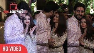 Aishwarya Rai and Abhishek Bachchan | Bachchan Family Diwali Party
