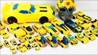 Transformers Bumblebee Toy Collection - 30 Vehicles Robot Car Transformation