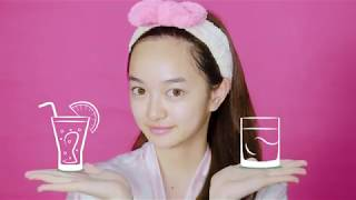 Everyday skincare routine with Kaity