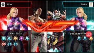 Tekken Card Tournament - Nina (Nin-Kaz) vs Plakia (Nin-Yos)