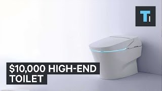 $10,000 high-end toilet