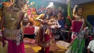 Radha chal kunjan ki or rimjhim barse pani mahadevumeshjhankikalakendra#9719470271;9410780653