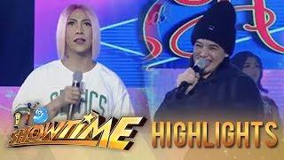 It's Showtime Miss Q & A: Vice Ganda calls Anne's voice a blessing