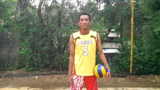 Tutorial Smash in volleyball by Tri Eko W P
