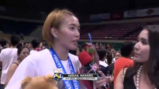 PSL 2ND BEST MIDDLE BLOCKER: Aby Maraño | 2015 PSL All-Filipino Conference