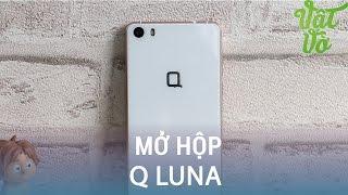 Vật Vờ| Mở hộp & đánh giá nhanh Q Luna: đẹp và sang trọng
