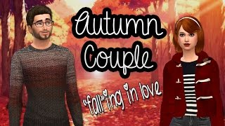 The Sims 4: Create A Sim- Autumn Couple (Fall-ing In Love)