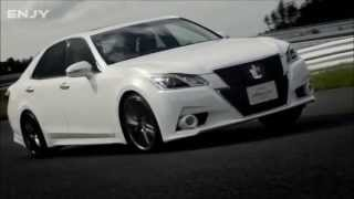 2013 Toyota Crown   Overview Interior Exterior