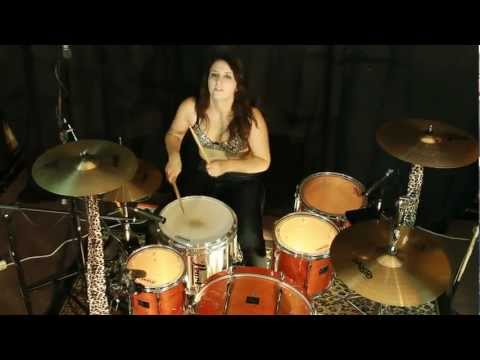 Moni Lashes Female Drummer of The Babes