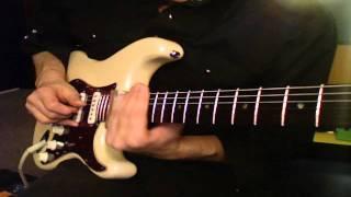 Sleepwalk Cover (Santo and Johnny) using Standard Tuned Slide Guitar