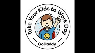 Jack and Mia Emoji Beanies - GoDaddy Take Your Kids to Work Day 2018