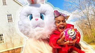 Pretend Play Prank! Easter Egg Hunt 5 Surprise Toys Challenge for Kids